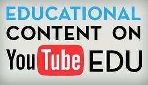 Youtube EDU, la nueva herramienta para aprender en los colegios   Educación a Distancia (EaD)   Scoop.it