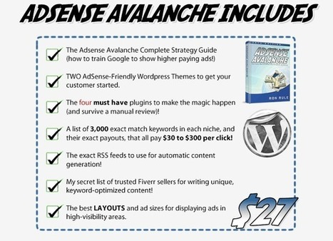 Product Reviews: Adsense Avalanche - Massive Income With Google Adsense is the truth? | Product Full Review | Scoop.it
