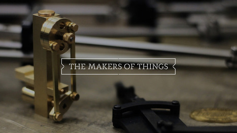 The Makers of Things: A Series of Films about an OG Makerspace and Its Community Members | Art, Design & Technology | Scoop.it
