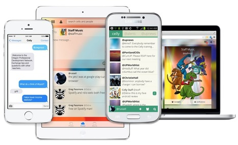 Celly - Instant Group Text and Polls   Mobile Learning   Text to Screen   technologies   Scoop.it