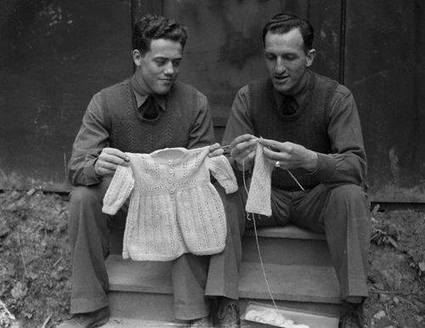 Legendary NHL hockey player Jacques Plante knitting   Handcraft - knitting, crocheting, sewing, embroidery   Scoop.it