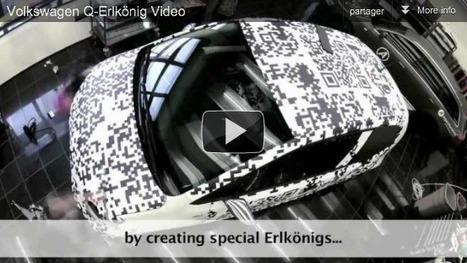 Promotion camouflage pour Volkswagen | QR code news | Scoop.it