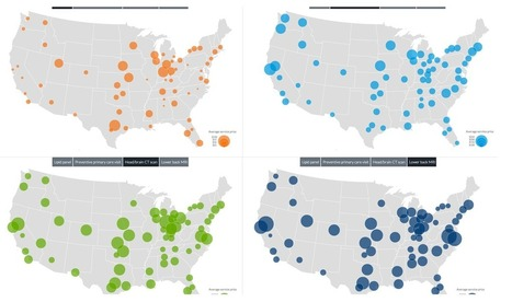 These 4 maps show the insanity of US health care prices | AP Human Geography | Scoop.it
