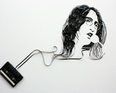 Cassette Tape Ribbons Create Portraits Of Famous Musicians [Pics] | Inspired By Design | Scoop.it