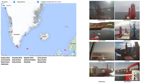 8 #webcam de cargos au #Groenland RAL | Arctique et Antarctique | Scoop.it