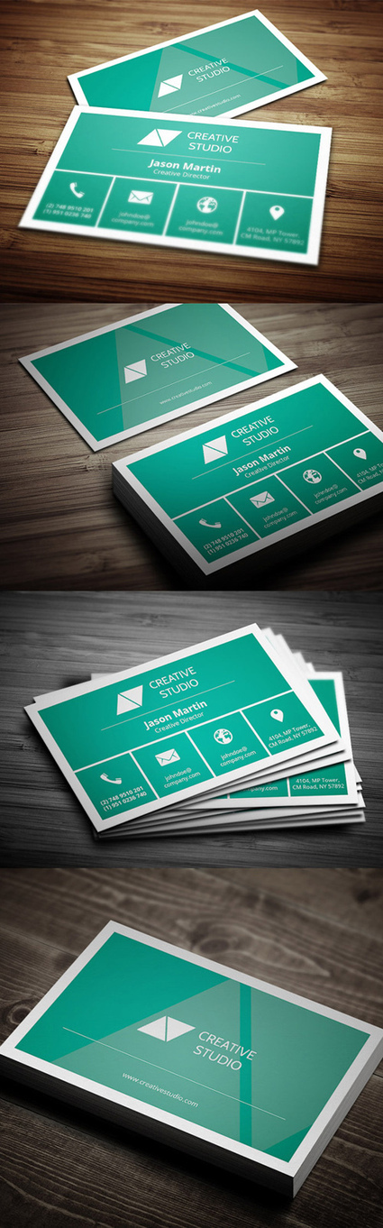 Business Cards: 22 High Quality Print-Ready Designs | Digital-News on Scoop.it today | Scoop.it