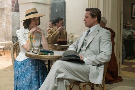 "Marion Cotillard et Brad Pitt, ""Alliés"" mélodramatiques 