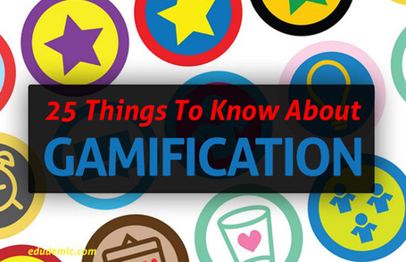 25 Things Teachers Should Know About Gamification - Edudemic | marked for sharing | Scoop.it