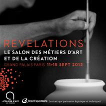 Salon Révélations au Grand Palais, le salon des métiers de l'art et de la création | Paris | Scoop.it
