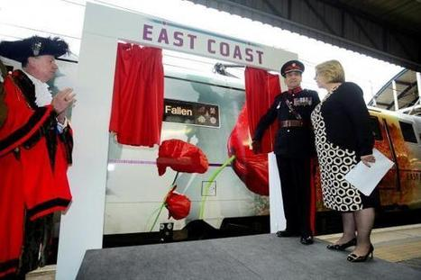 Railway tribute to First World War fallen - The Northern Echo | Centenary of World War 1 | Scoop.it