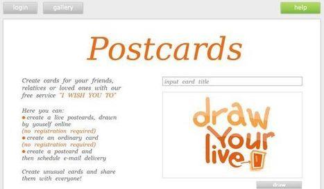 I Wish You To, crea postales con animaciones de texto realizadas a mano alzada y envíalas a tus amigos | Recull diari | Scoop.it