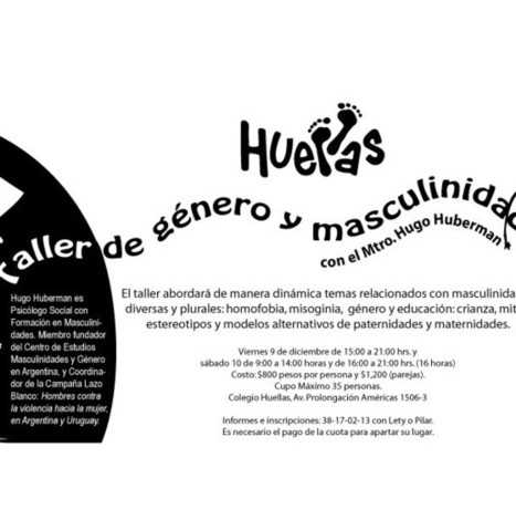 Taller de Género y Masculinidades | Colegio Huellas Guadalajara | #hombresporlaigualdad | Scoop.it