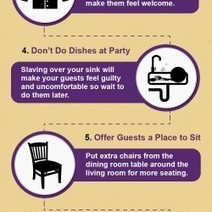 10 Tips For Hosting A Stress-Free Get Together | Visual.ly | Business | Scoop.it