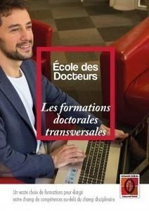 Formation pour les doctorants | Université de Toulouse – Higher Education and Research in Toulouse Midi-Pyrénées | PhD | Scoop.it