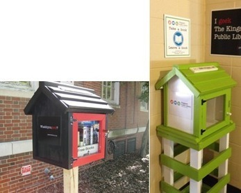 "Kingsport Public Library introduces two ""Little Free Libraries"" 