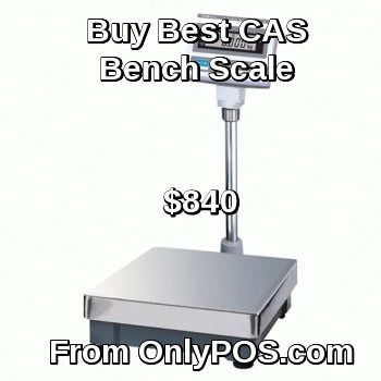 Buy New CAS Bench Scale With LCD Display From OlnyPOS. | Point of Sales Products | Scoop.it