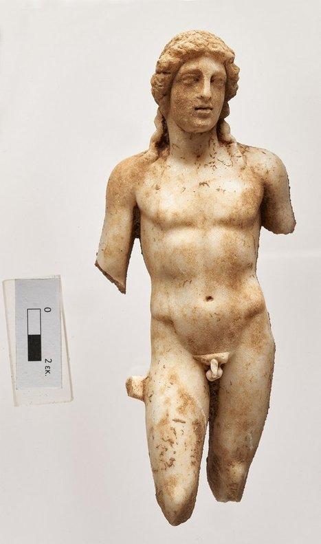 Encuentran esculturas de Ártemis y Apolo en Áptera (Creta) | Centro de Estudios Artísticos Elba | Scoop.it
