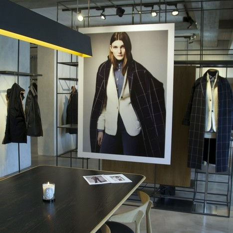 The atmosphere of the Lardini Fall/Winter 2015-16 Press Day | Le Marche & Fashion | Scoop.it