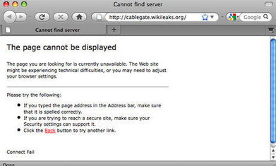 WikiLeaks website pulled by Amazon after US political pressure | Cloud Computing | Scoop.it