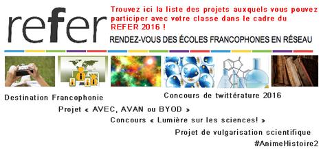 [VOUS AUSSI PARTICIPER] dans les projets collaboratifs du #referedu #francophonie @ReferEdu | Ressources pour les TICE en primaire | Scoop.it