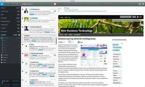 Mention, monitoriza las menciones de tus perfiles sociales ... | Desarrollo de Apps, Softwares & Gadgets: | Scoop.it