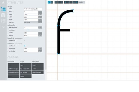Glyphr, the free HTML5 based font editor | Emergent Digital Practices | Scoop.it