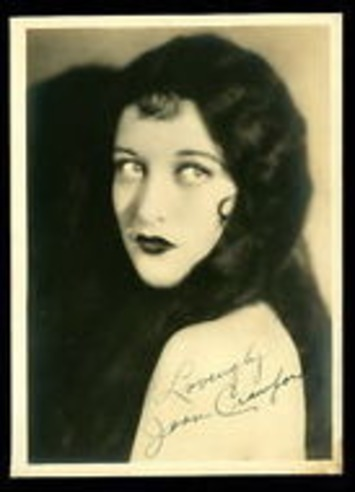 Vintage JOAN CRAWFORD Autographed Photo 1920s EARLY Long Hair | Antiques & Vintage Collectibles | Scoop.it