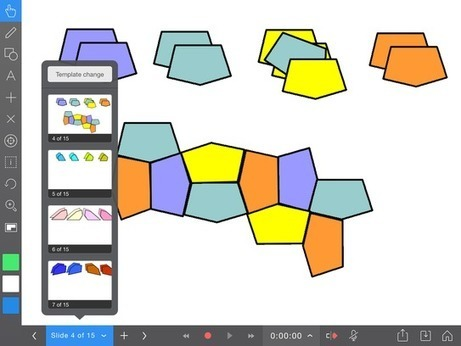 Explain Everything: Pentagon Tilings | Math apps and Education | Scoop.it