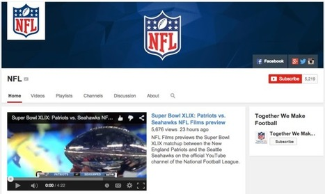 The NFL's cautious embrace of YouTube - Digiday | Big Media (En & Fr) | Scoop.it
