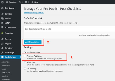 WordPress: Ultimate Articles Checklist | NOUPE | Création, maintenance et animation de site et de blog | Scoop.it