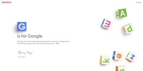 Google Yeniden Yapılanıyor, Alfabe Karşınızda!   Sosyal Medya   Scoop.it