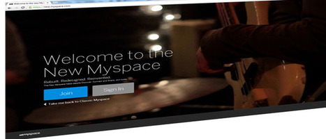 New MySpace Relaunches as Sleek, Modern Music-Focused Social Networking Site - 7th-media | Go Social Site | Scoop.it