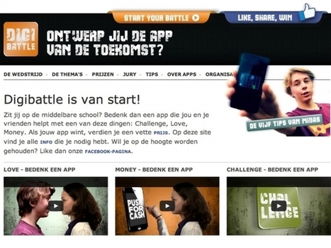 Digibattle voor 14-18 jarigen - Waag Society | Innovation and the knowledge economy | Scoop.it