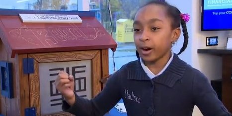 8-Year-Old Book-Lover Gives Enthusiastic, Inspiring Speech About Reading | Google Lit Trips: Reading About Reading | Scoop.it