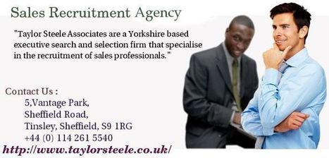 Benefits Of Sales Recruitment Agencies @taylorsteele.co.uk | Executive sales recruitment | Scoop.it