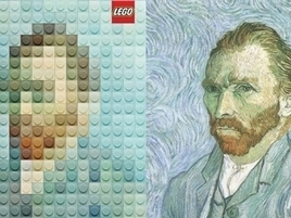 Lego Versions of Famous Artworks Are So Great, They're Now Official Ads | Brand Marketing & Branding | Scoop.it