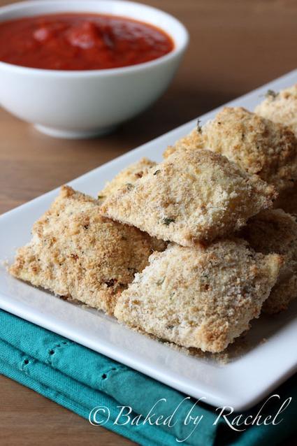 Crispy Baked Ravioli | Baked by Rachel | À Catanada na Cozinha Magazine | Scoop.it