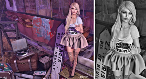 I love pizza and like 3 people | 亗  Second Life Fashion Addict  亗 | Scoop.it