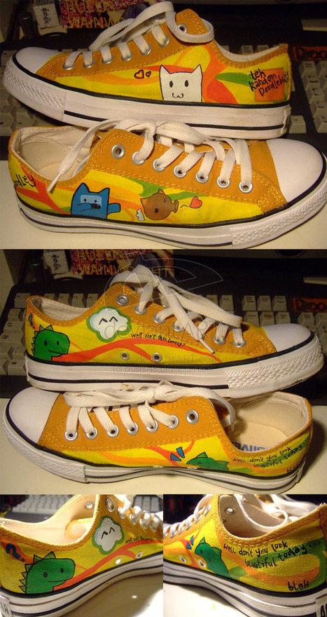 120+ Creative, Beautiful, & Custom Shoe Design Inspirations | Visual Inspiration | Scoop.it