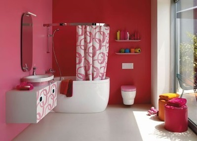 Bathroom curtain ideas photo | Bathroom Design Ideas 2012 | Scoop.it