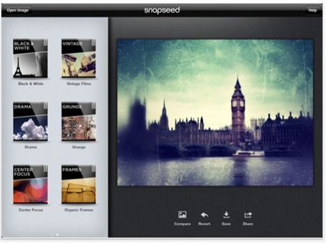 iTunes App of the Week for iPad 2 is Snapseed | iPad Apps | Best iPad Apps | Sculpting in light | Scoop.it