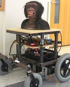 Ape-headed, ape-controlled, cannon-wielding robot is for real | Technoculture | Scoop.it