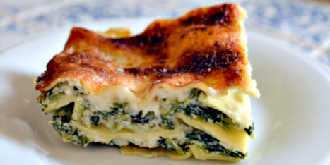 For a Lighter Easter Dinner: Spinach and Ricotta Lasagne | Le Marche and Food | Scoop.it