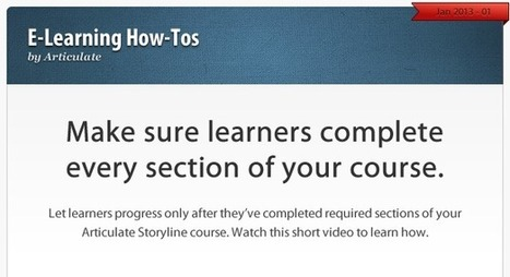 How to get learners to complete every section of your course | Aprendiendo a Distancia | Scoop.it