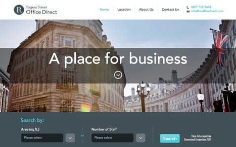 Regent Street Office Direct, London W1, a site for letting sub-200 m2 office units in the portfolio | Digital Portfolio by Small Back Room | Scoop.it