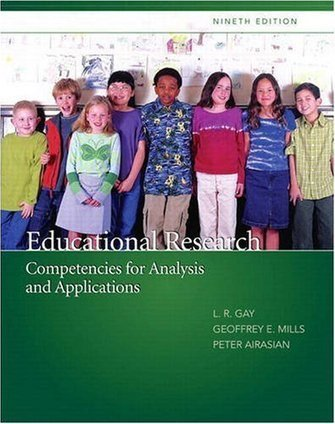 Educational Research: Competencies for Analysis and Applications (with MyEducationLab) (9th Edition) by Lorraine R. Gay, Geoffrey E. Mills, Peter W. Airasian - EbookNetworking.net | reasearch plan | Scoop.it