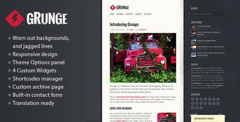 Best Magazine News Responsive WordPress Themes | howexplain | Scoop.it