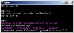 clink - Bringing Bash's powerful command line editing to Microsoft Windows' cmd.exe - Google Project Hosting   A better work   Scoop.it