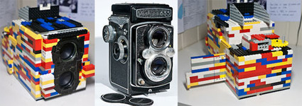 A Twin Lens Reflex (TLR) Built From Lego Bricks | Photography Gear News | Scoop.it