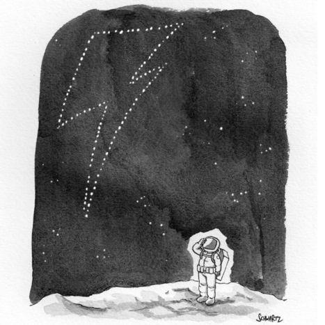 Bonus Daily Cartoon: Remembering David Bowie - The New Yorker   B-B-B-Bowie   Scoop.it